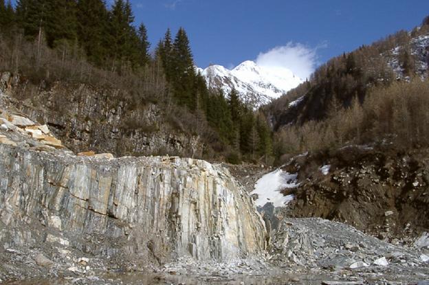 Silberquarzit Steinbruch Südtirol