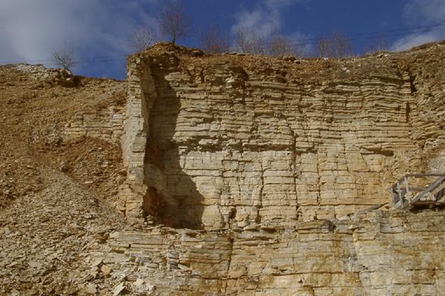 Bruch Solnhofener Natursteinplatten
