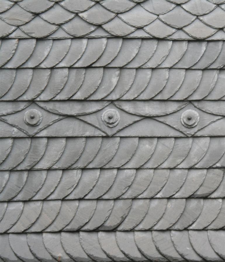 Fassade Naturstein Schiefer