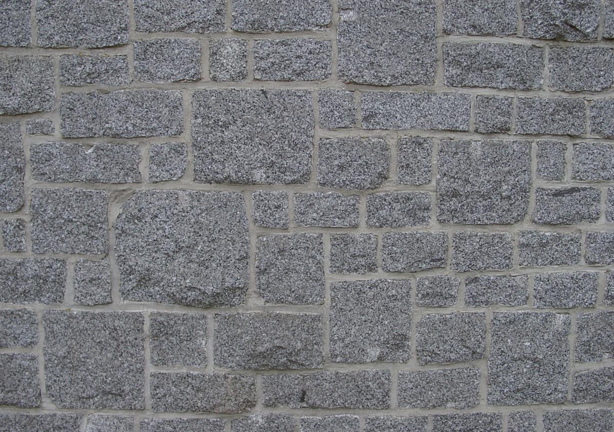unregelmäßiges Schichtenmauerwerk Granit